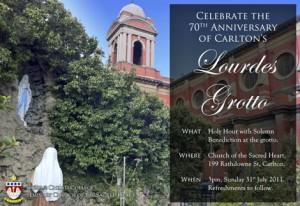 Carlton Lourdes Grotto
