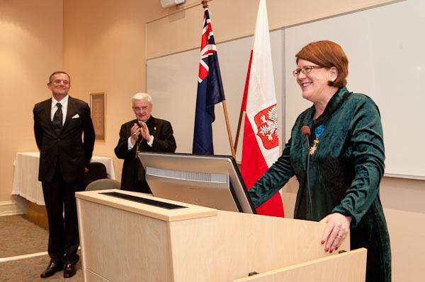 Diplomatic Honour for Melbourne theologian