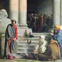 Meeting the gaze of Christ