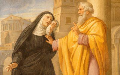 St Monica: patron saint of conversions